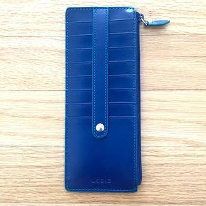 LODIS KATE LEATHER CARD STACKER & WALLET BRAND NEW